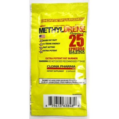 Пробник Cloma Pharma MethylDrene25 - 2 капсулы
