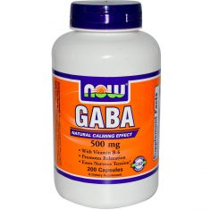 GABA NOW 500 mg - 200 капсул