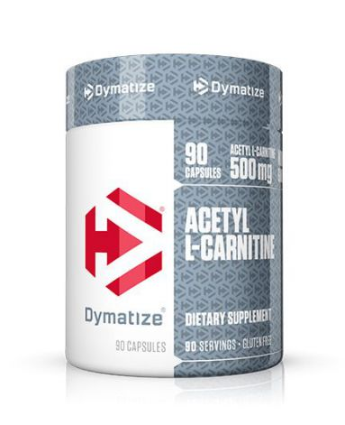L-карнитин DYMATIZE Acetyl L-Carnitine 500 mg - 90 капсул