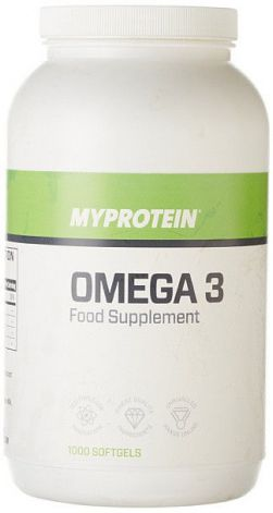 Omega 3 MYPROTEIN - 1000 мг - 1000 капсул